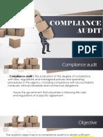 Compliance Audit report