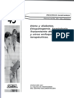 Tema 43. Dieta y Diabetes