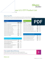 Ishares Product List en Us