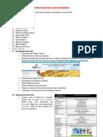 Estructura Del Trabajo Final de Empresariado 2017-II