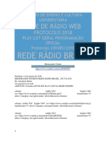 Radio Memorando Interno Rede Rádio Brasil 250.742.2018
