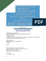 Radio Memorando Interno Rede Rádio Brasil 251766.2018