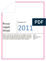Power Supply Design