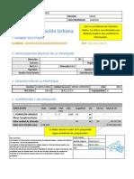 Informe de Tasacion Urbana