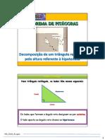 Decomposiçao Triangulo Pela Altura Ref Hipotenusa