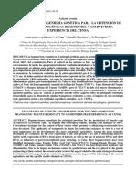 Estrategias de Ingeniería Genética Para La Obtención de Plantas Ransgénicas Resistentes a Geminivirus. Experiencia Del Censa