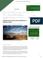 El Futuro de La Lucha Contra La Pobreza en América Latina