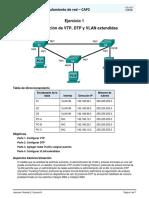 CAP2 - Lab1 - Configuración de VTP, DTP y VLAN Extendidas