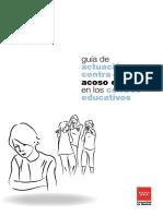 Guia Actuacion Acoso Escolar en Los Centros Educativos en La comunidad de Madrid