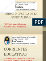 Corrientes Educativas - Autores
