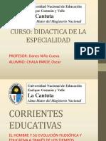 Corrientes Educativas - Autores