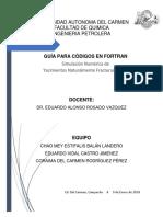 Comandos Fortran