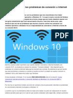 Como Solucionar Los Problemas de Conexión a Internet en Windows 10
