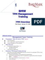 BMW TPM Training