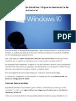 La Actualización de Windows 10 Que Te Desconecta de Internet_ Cómo Solucionarlo - BBC Mundo