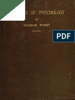 Wilhelm Wundt - 1896 - Outlines of Psychology