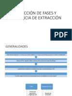 Selección de Fases y Secuencia de Extracción