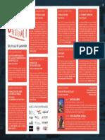 Programme du « Off Festival » de Ciné 7