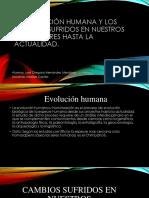 Presentacion Sobra La Teoria de La Evolucion