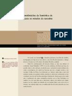 Semiótica de Peirce e Estudos Da Narrativa