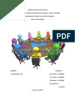 Organizacion en Un Nuevo Modelo Social