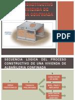Proceso Constructivo de Una Vivienda de Albañileria Confinada Areglado