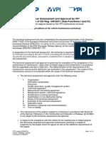 Teil a Zur Fachtechnischen Begutachtung Nur Vpi Part a Technical Assessment Only Vpi En