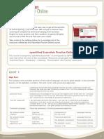 OpenMind Essentials Practice Online
