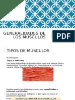 Generalidades de Los Musculos