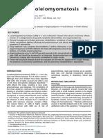 Linfangioleiomiomatosis
