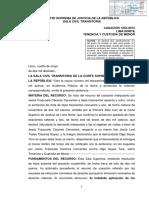 CASACIÓN 1252-2015 LIMA NORTE. Tenencia y custodia de menor.pdf