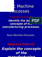 Unitc-manufacturing Basic Machine Processes