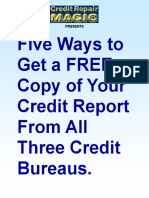 njnjvsv - Five Ways to Get Free Credit Reports