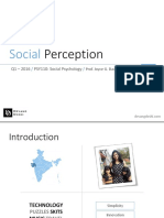 Final presentation Perception