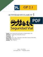 SITIO WEB DE SEGURIDAD VIAL