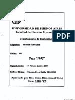 Programa de la materia Teoria Contable Catedra Helovani