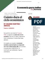 Cuanto Duran Los Ciclos