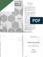 WAHL, François. Estruturalismo e Filosofia