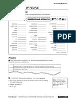 Interchange4thEd Level1 Unit09 Vocabulary Worksheet