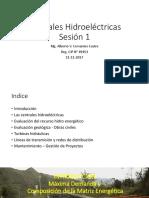 Curso Centrales Hidroeléctricas 1