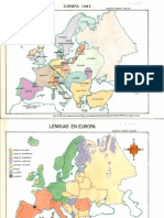 Mapas de Europa s.xvi-xviii