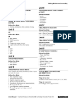 Interchange4thEd Level1 Writing Worksheets AnswerKey