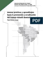 Buenas prácticas y aprendizajes hacia la prevención y erradicación del trabajo infantil doméstico