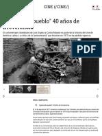 """""""Agarrando Pueblo"""", 40 Años de Irreverencia"""