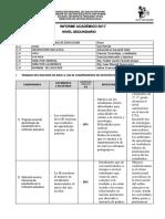 Informe Técnico Pedagógico 2017_secundaria