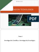 1 Investigacion Tecnologica Tecba Tema1 2012