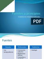 5 Fuentes y Principios