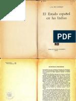 José María Ots Capdequi - El Estado Espanol en Indias