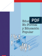 Educación no formal y educación popular