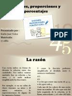 tarea 4 de preopedeutico de matematica Razones, proporciones y porcentajes.pptx